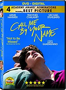 Call Me By Your Name Digital Copy Download Code Ultra Violet UV VUDU SD