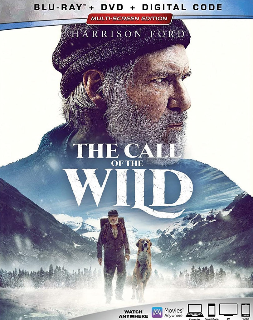 Call of the Wild Digital Copy Download Code VUDU HD HDX