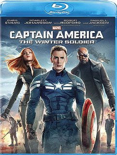 Captain America The Winter Soldier Digital Copy Download Code Disney Movies Anywhere VUDU iTunes HD HDX