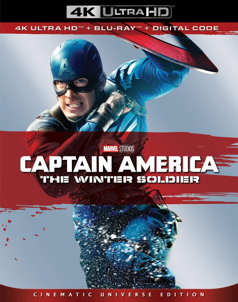 Captain America The Winter Soldier Digital Copy Download Code Disney VUDU 4K