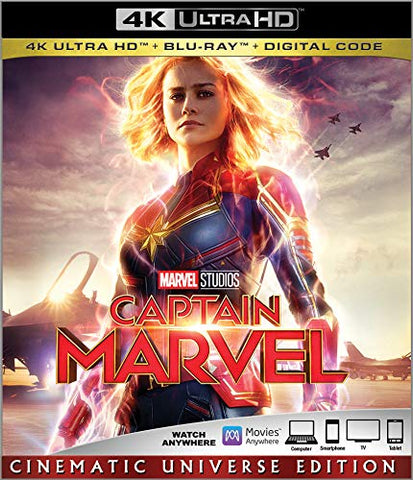 Captain Marvel Digital Copy Download Code MA Vudu iTunes 4K Pre-Order 6-14