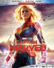 Captain Marvel Digital Copy Download Code Disney Google Play HD HDX