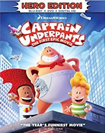Captain Underpants Digital Copy Download Code Ultra Violet UV VUDU iTunes HD HDX
