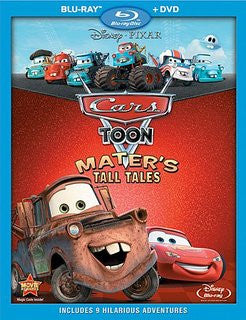 Cars Toon Mater's Tall Tales Digital Copy Download Code Disney Movies Anywhere VUDU iTunes HD HDX