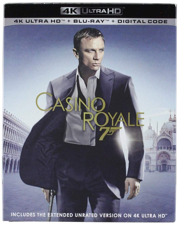 007 Casino Royale Digital Copy Download Code VUDU 4K