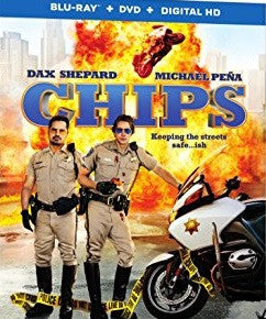 Chips Digital Copy Download Code Ultra Violet UV VUDU HD HDX