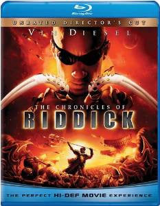 Chronicles of Riddick Digital Copy Download Code UV Ultra Violet VUDU HD HDX