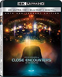 Close Encounters of the Third Kind Digital Copy Download Code Sony 4K