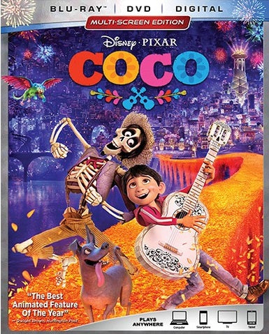 Coco Digital Copy Download Code Disney Movies Anywhere VUDU iTunes HD HDX