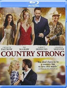 Country Strong Digital Copy Download Code UV Ultra Violet VUDU HD HDX