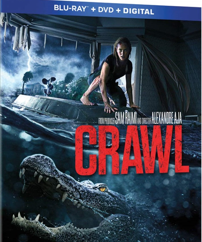 Crawl Digital Copy Download Code iTunes HD 4K