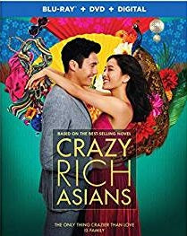 Crazy Rich Asians Digital Copy Download Code Ultra Violet UV VUDU iTunes HD HDX