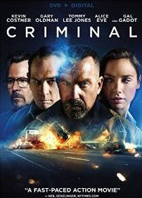 Criminal Digital Copy Download Code UV Ultra Violet VUDU SD
