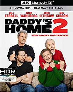 Daddy's Home 2 Digital Copy Download Code 4K