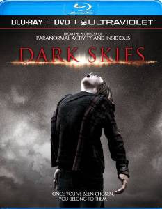 Dark Skies Digital Copy Download Code UV Ultra Violet VUDU HD HDX