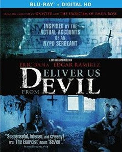 Deliver Us From Evil Digital Copy Download Code UV Ultra Violet VUDU iTunes HD HDX