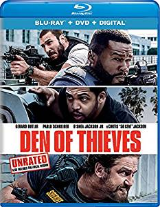 Den of Thieves Digital Copy Download Code  iTunes HD