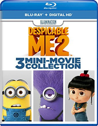 Despicable Me 2: 3 Mini Movie Collection Digital Copy Download Code iTunes HD