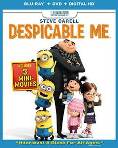 Despicable Me Digital Copy Download Code iTunes HD 4K