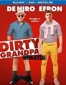 Dirty Grandpa Digital Copy Download Code iTunes HD