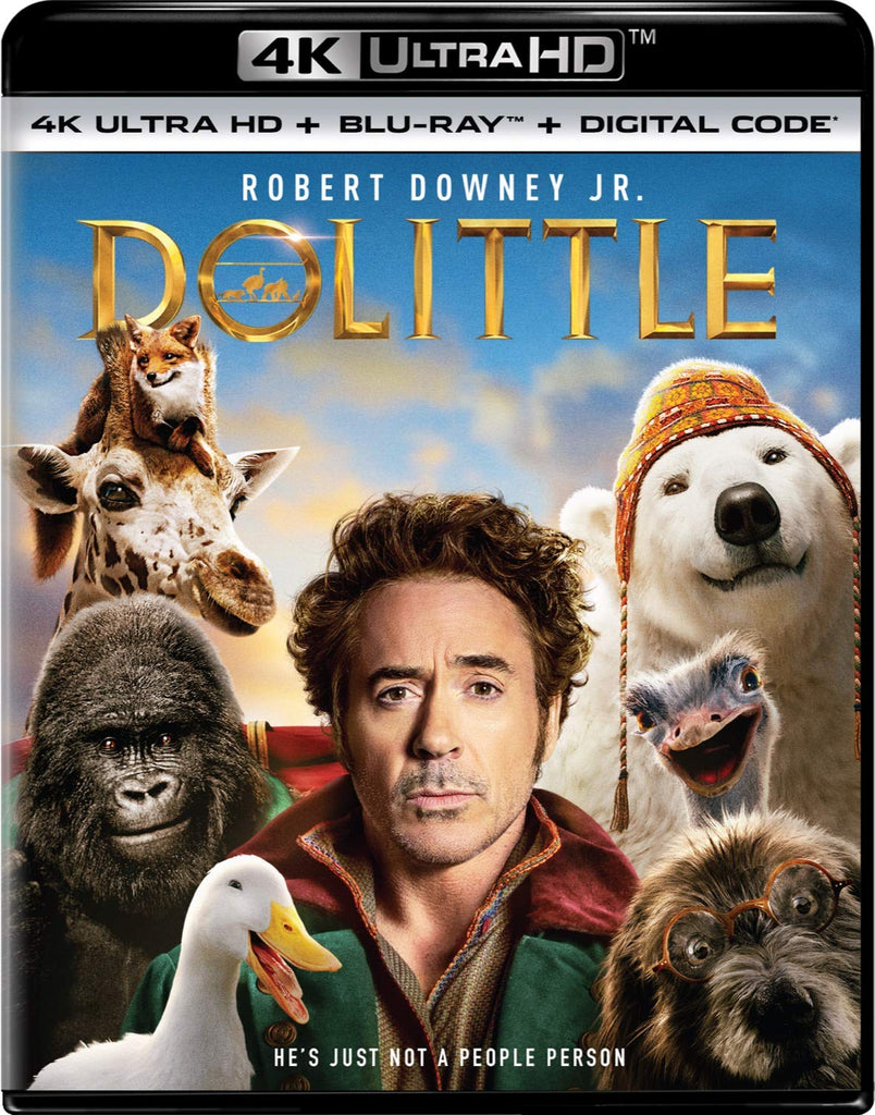 Dolittle (2020) Digital Copy Download Code MA VUDU iTunes 4K