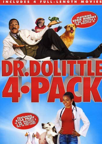 Dr. Dolittle 4-Film Collection Digital Copy Download Code MA Vudu iTunes SD