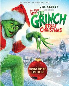 Dr Seuss How the Grinch Stole Christmas Digital Copy Download Code iTunes 4K