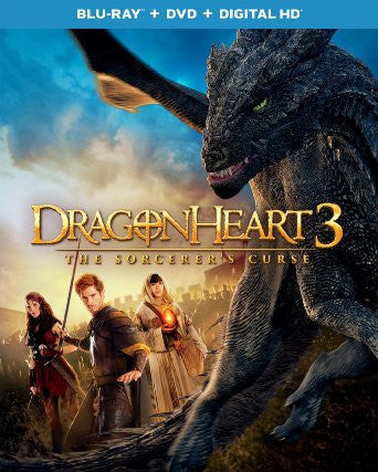 Dragonheart 3 The Sorcerer's Curse Digital Copy Download Code UV Ultra Violet VUDU HD HDX