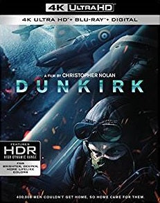 Dunkirk Digital Copy Download Code 4K