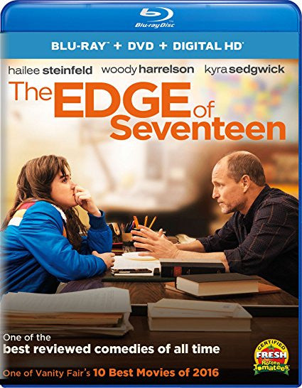 Edge of Seventeen Digital Copy Download Code UV Ultra Violet VUDU HD HDX