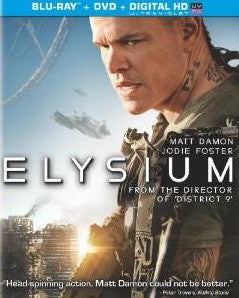 Elysium Digital Copy Download Code UV Ultra Violet VUDU iTunes HD HDX