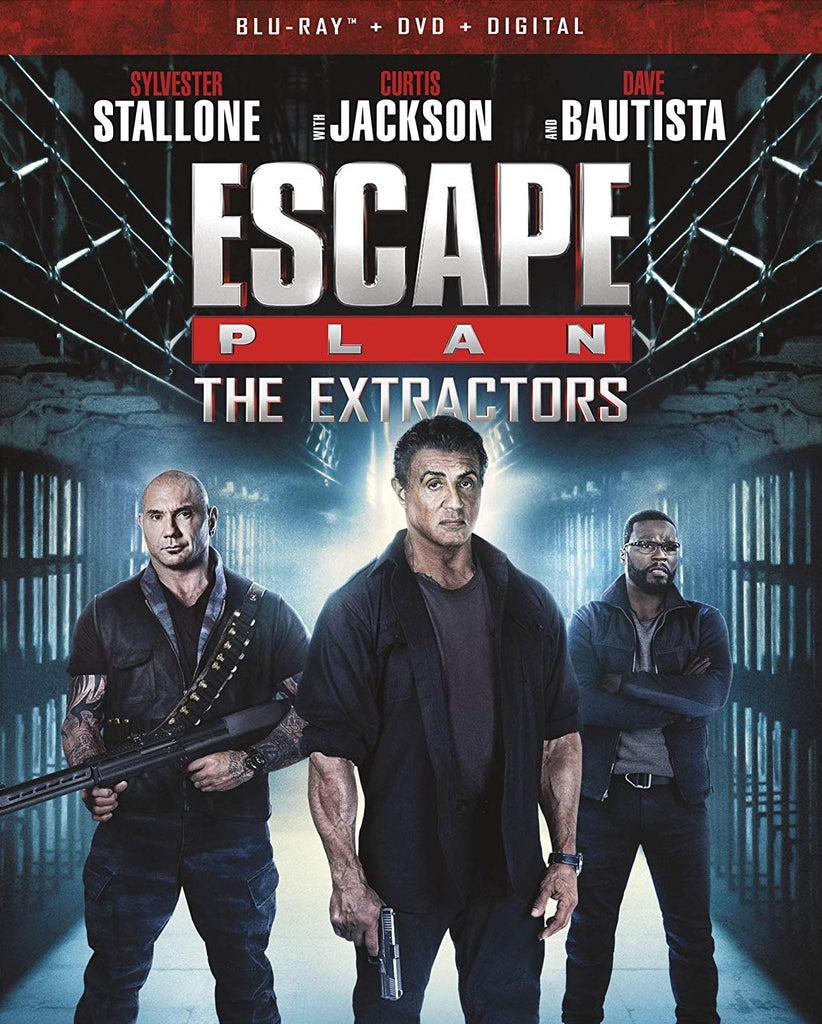 Escape Plan 3 The Extractors Digital Copy Download Code Vudu HD HDX