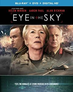 Eye in the Sky Digital Copy Download Code UV Ultra Violet VUDU HD HDX