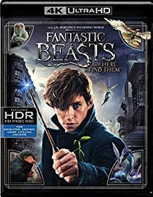 Fantastic Beasts and Where to Find Them Digital Copy Download Code VUDU 4K