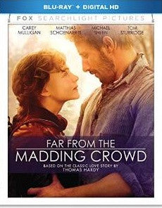 Far From the Madding Crowd Digital Copy Download Code UV Ultra Violet VUDU HD HDX