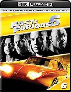 Fast and the Furious 6 Digital Copy Download Code VUDU 4K