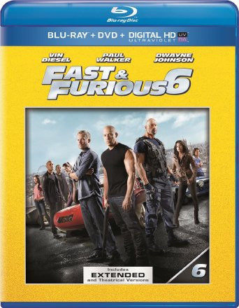Fast and The Furious 6 Extended Edition Digital Copy Download Code iTunes HD