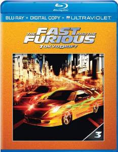 Fast and the Furious Tokyo Drift Digital Copy Download Code UV Ultra Violet VUDU HD HDX
