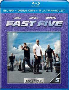 Fast Five Extended Edition Digital Copy Download Code iTunes HD