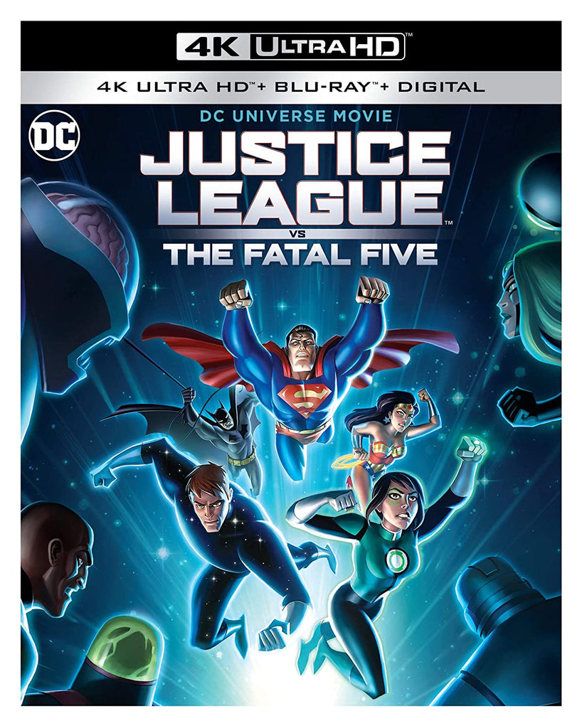 Justice League Vs Fatal Five Digital Copy Download Code MA VUDU iTunes 4K