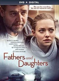 Fathers and Daughters Digital Copy Download Code UV Ultra Violet VUDU SD