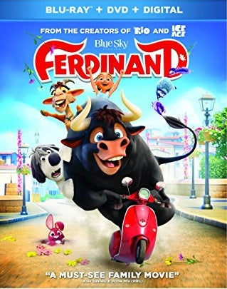 Ferdinand Digital Copy Download Code Ultra Violet UV VUDU iTunes HD HDX