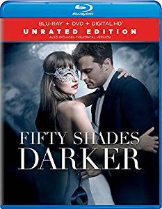 Fifty Shades Darker Unrated Edition Digital Copy Download Code iTunes HD 4K