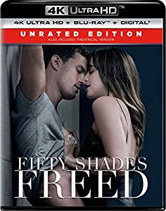 Fifty Shades Freed Digital Copy Download Code MA VUDU iTunes 4K