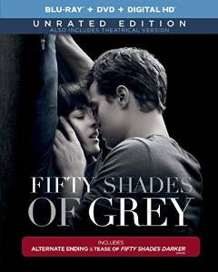 Fifty Shades of Grey Unrated Version Digital Copy Download Code UV Ultra Violet VUDU HD HDX
