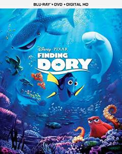 Finding Dory Digital Copy Download Code Disney Movies Anywhere VUDU iTunes HD HDX