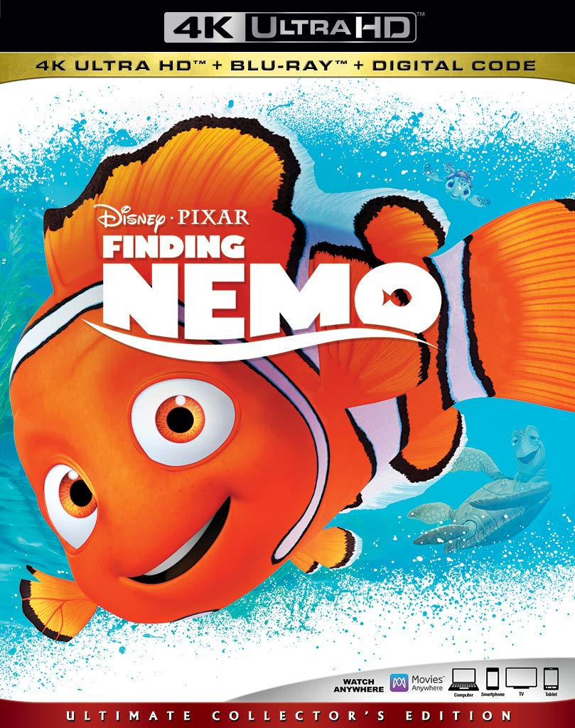 Finding Nemo Digital Copy Download Code Disney Vudu 4K