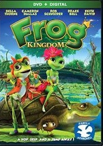 Frog Kingdom Digital Copy Download Code UV Ultra Violet VUDU SD