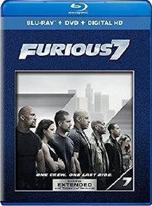 Furious 7 Extended Edition Digital Copy Download Code iTunes HD