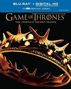 Game of Thrones Season 2 Digital Copy Download Code iTunes HD